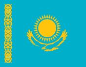 Флаг - Казахстан